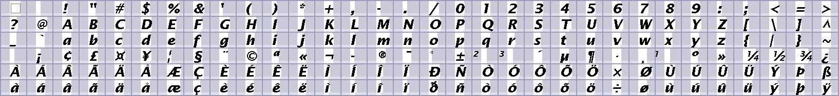 Rasher's Rockbox related stuff - Fonts - 100dpi