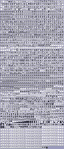 Rasher's Rockbox related stuff - font properties